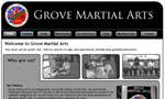 Grove Martial Arts Website thumbnail