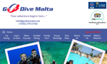 Go Dive Malta Website thumbnail