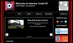 Hanney Youth FC website thumbnail